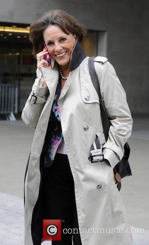 Celebrities arriving at the BBC radio 2 studios