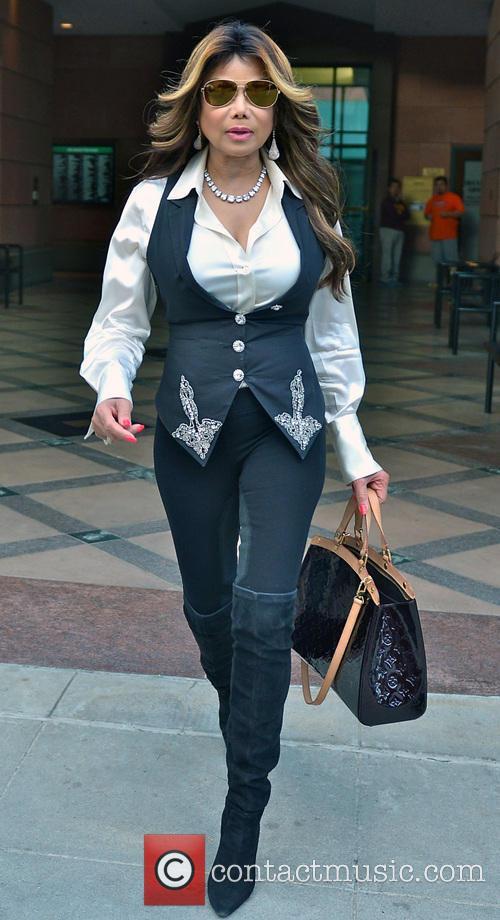 La Toya Jackson In Beverly Hills