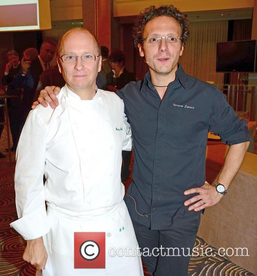 heinz beck simone zanoni live cooking at hilton 3543036