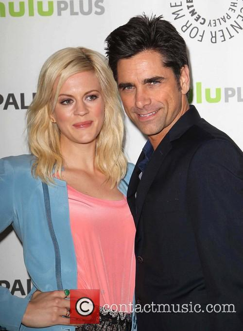 Georgia King and John Stamos 3