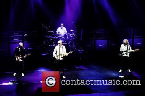 Rick Parfitt, Francis Rossi, Alan Lancaster, Matt Letley and Status Quo 11