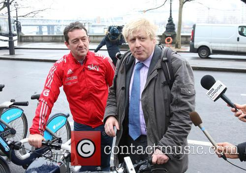 Boris Johnson and Chris Boardman 7