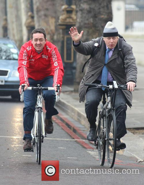 Boris Johnson and Chris Boardman 8