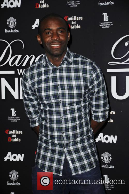 fabrice muamba dancing with united at the 3543794