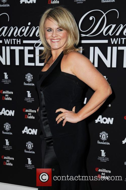 sally lindsay dancing with united at the 3543758