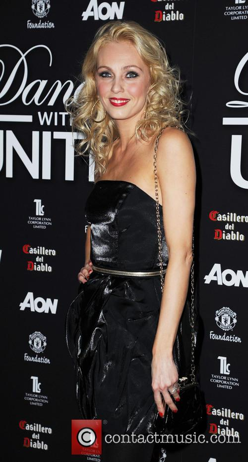 camilla dallerup dancing with united at the 3543880