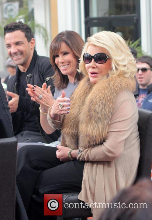 Joan Rivers, Melissa Rivers and George Kotsiopoulos 9