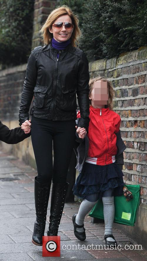Geri Halliwell and Bluebell Madonna Halliwell 9