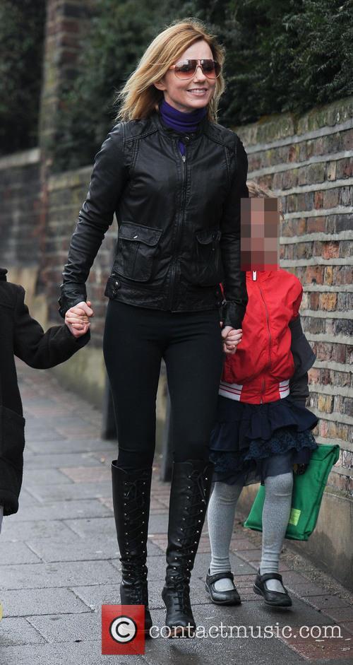 Geri Halliwell and Bluebell Madonna Halliwell 11