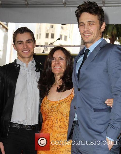 Dave Franco, Betsy Franco and James Franco 3