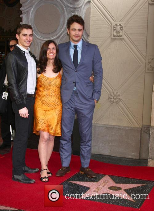 Dave Franco, Betsy Franco and James Franco 4