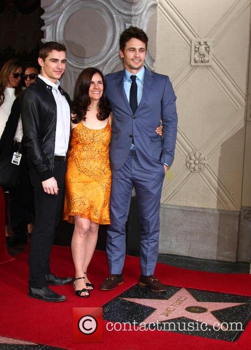 Dave Franco, Betsy Franco and James Franco 1