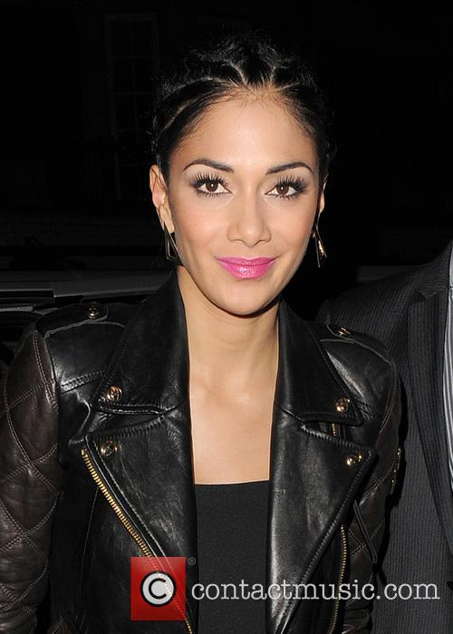 Nicole Scherzinger arriving at C restaurant.