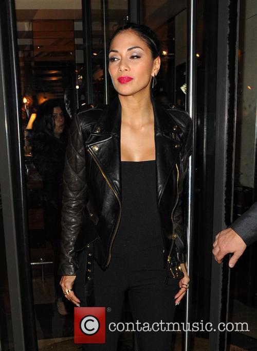 Nicole Scherzinger Leaving C London