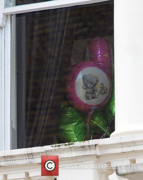 Tamara Ecclestone leaving her sister Petra's home