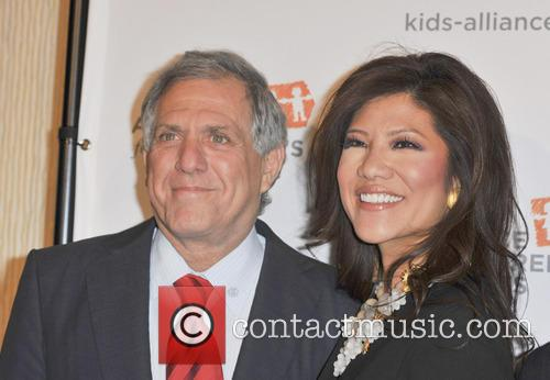 Julie Chen, Les Moonves, Beverly Hilton Hotel