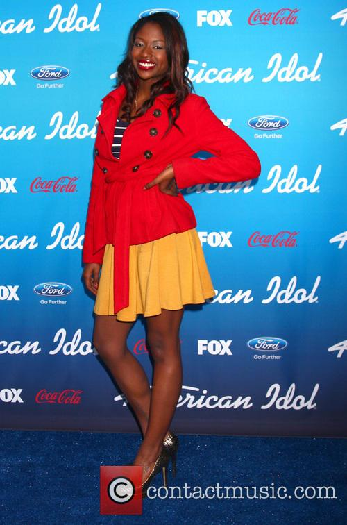amber holcomb fox american idol finalists party 3544874