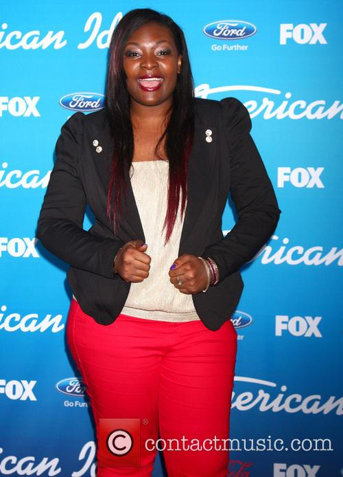 Candice Glover, Fox American Idol Finalists Party