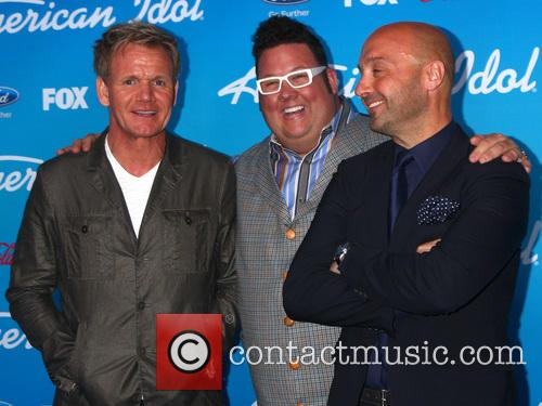 Gordon Ramsay, Graham Elliott, and Vineyard owner, restaurateur Joe Bastianich, American Idol, The Grove