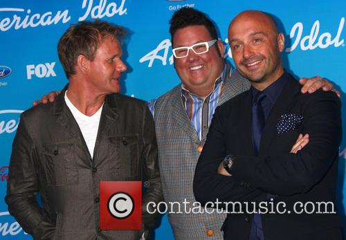 Gordon Ramsay, Graham Elliott, And Vineyard Owner, Restaurateur Joe Bastianich and American Idol 5