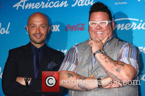 American Idol, Vineyard owner, restaurateur Joe Bastianich (L) and chef Graham Elliott 1