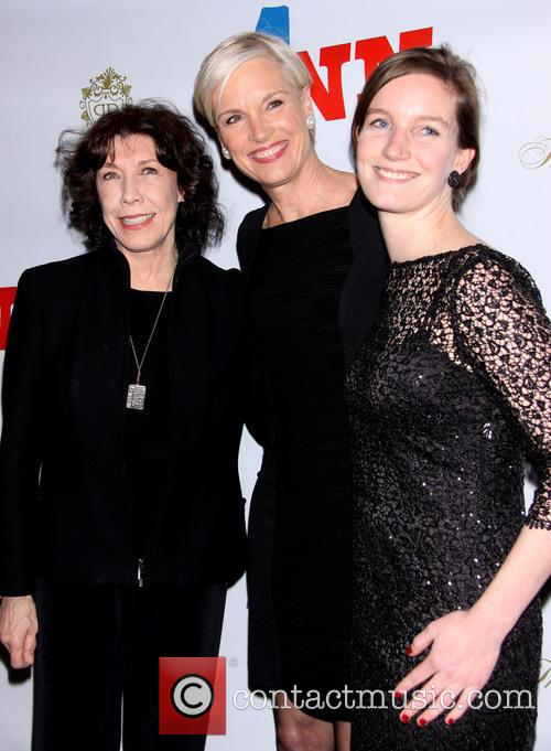 Lily Tomlin, Cecile Richards and Lily Adams 2