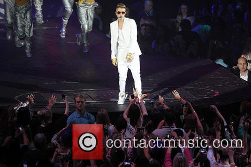 Justin Bieber Performing in Greenwich