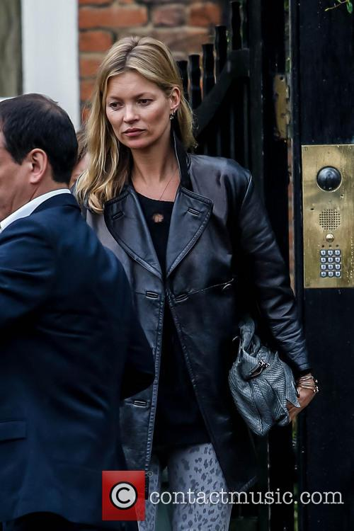 Kate Moss leaving home