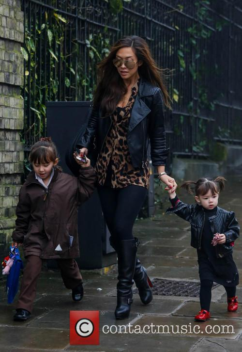 Myleene Klass, Hero Quinn and Ava Quinn 7