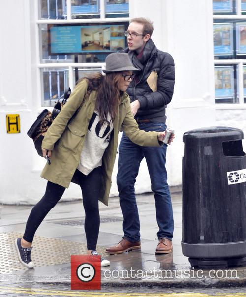 Myleene Klass out and about