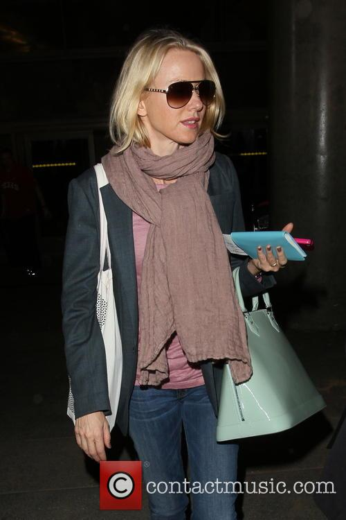 Naomi Watts at LAX aiport