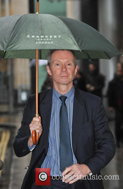 Dr Martin Coward leaves the High Court