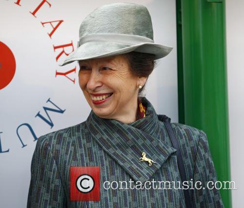 Anne, Princess Royal at Sandown Racecourse