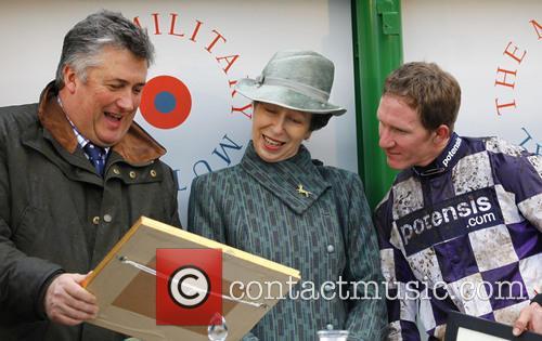Paul Nicholls, Anne, Princess Royal and Jody Sole 2