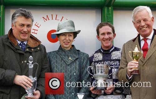 Paul Nicholls, Anne, Princess Royal and Jody Sole 3