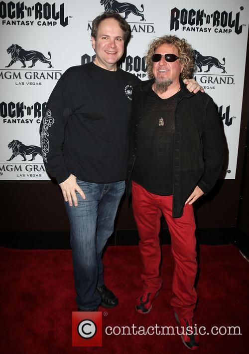 Eddie Trunk and Sammy Hagar 1