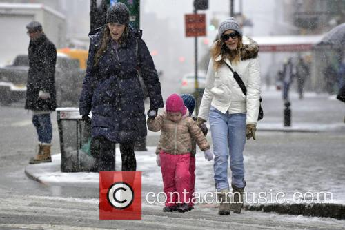 Sarah Jessica Parker, Tabitha Broderick and Marion Broderick 10