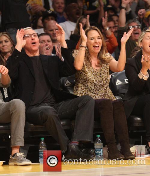 Celebrities, Los Angeles Lakers and Toronto Raptors 2