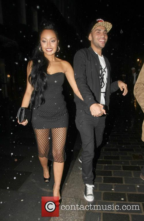 Leigh Pinnock and Jordan Kiffin at Amika
