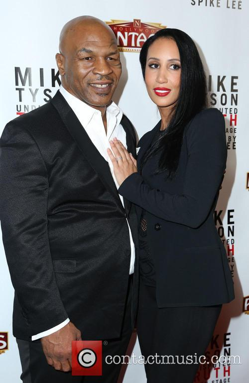 Mike Tyson and Kiki Tyson 8