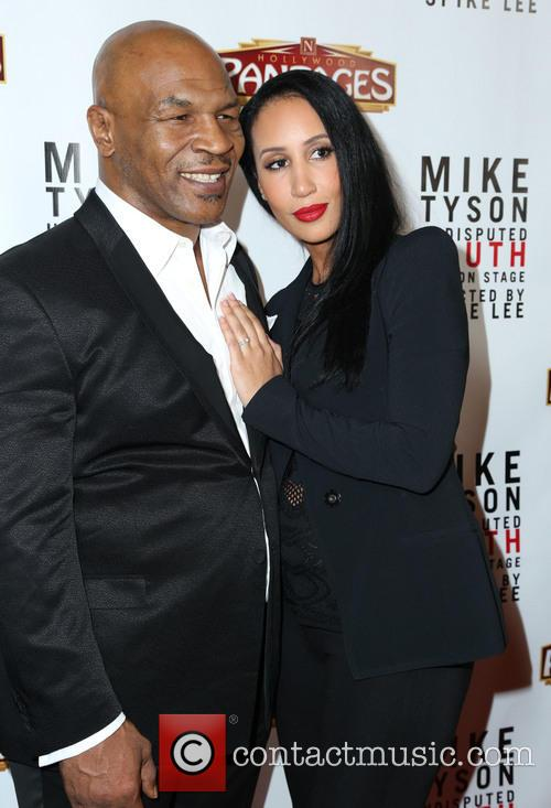 Mike Tyson and Kiki Tyson 1