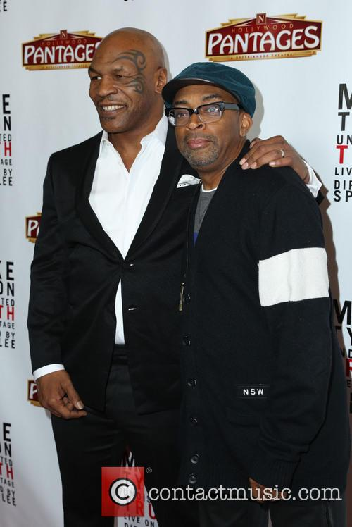 Mike Tyson and Spike Lee 2