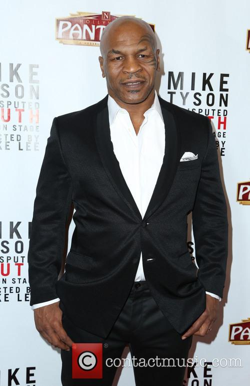 mike tyson the los angeles opening night 3546183