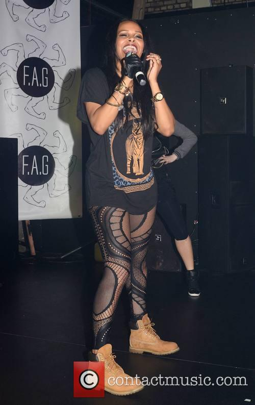 Samantha Mumba performs at FA.G.