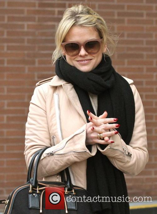 Alice Eve seen out and about