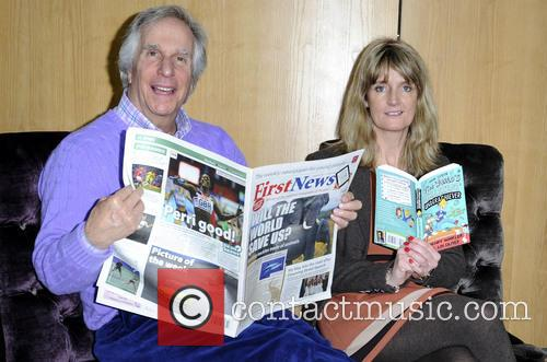 Henry Winkler and Nicky Cox 8