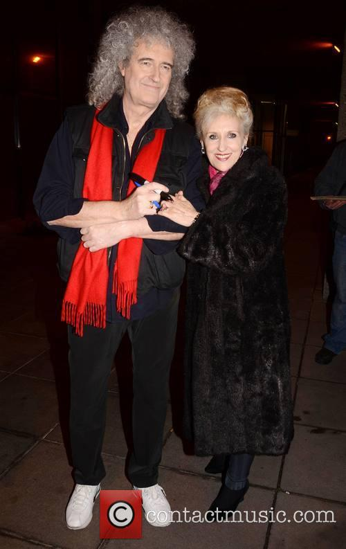 Brian May and Anita Dobon 2