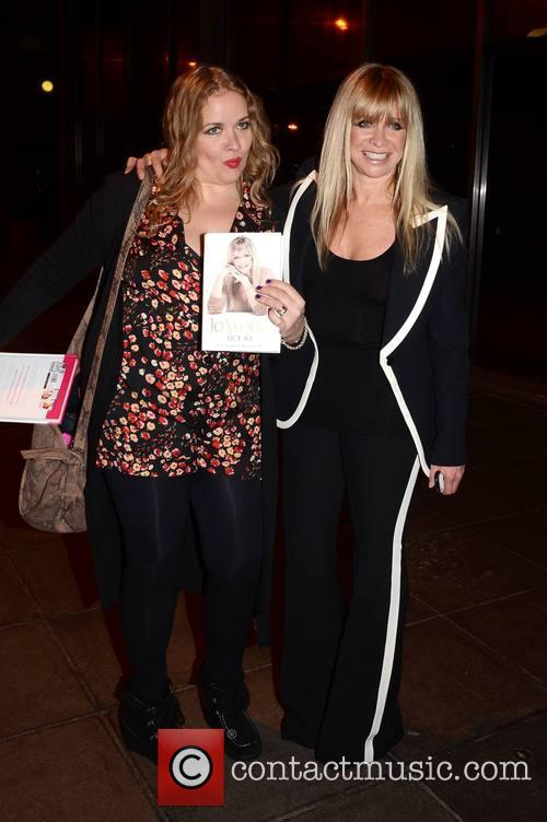 jo wood sister lize mccarron celebrities outside 3546319