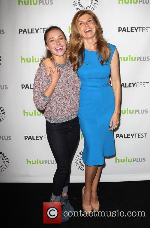 Hayden Panettiere and Connie Britton 3