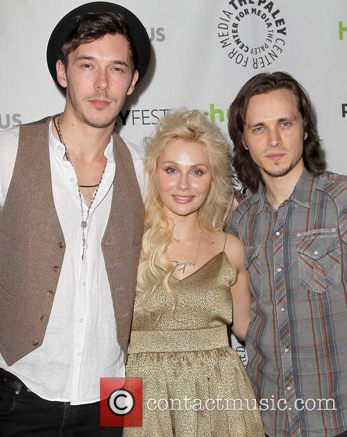 Sam Palladio, Clare Bowen and Jonathan Jackson 11
